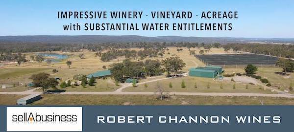 Sweetwater Property Including Robert Channon Wines