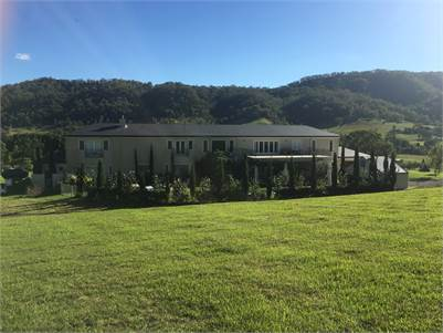 Gold Coast Hinterland Private Vineyard Mansion with income from tenanted Cellar Door Restaurant